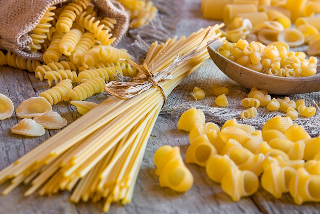 New CALORIES in Raw pasta. I've analysed it