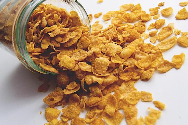 Corn Flakes - caloies, wieght