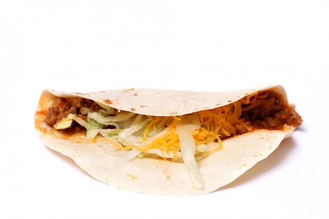 Soft Taco Taco Bell - caloies, wieght