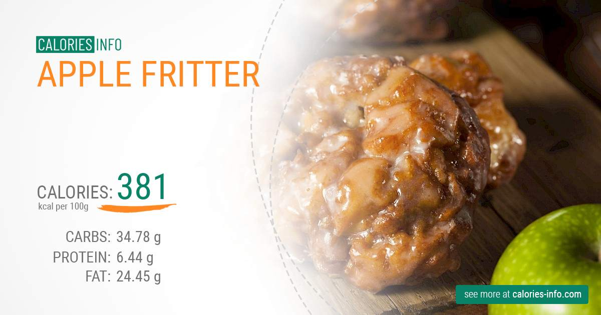 Calories In Apple Fritter I Ve Analysed It Carefully