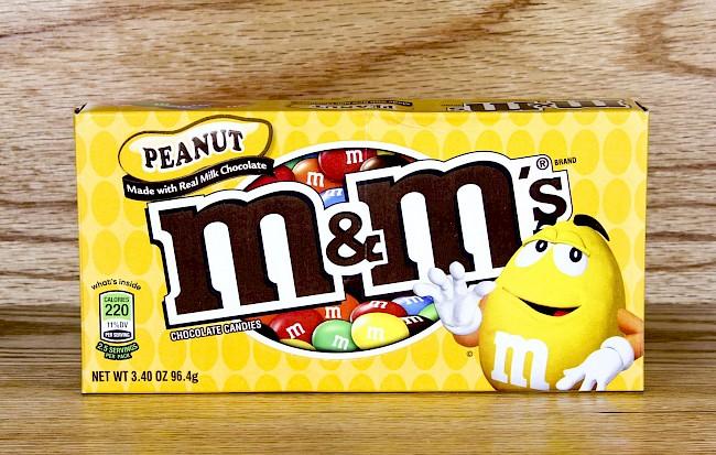 M&M's Peanut - caloies, wieght
