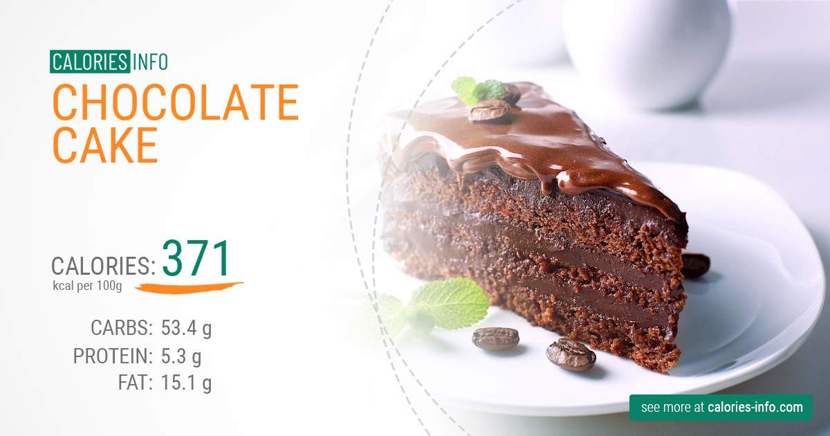 Calories In Chocolate Cake I Ve Analysed It Calories Info Com