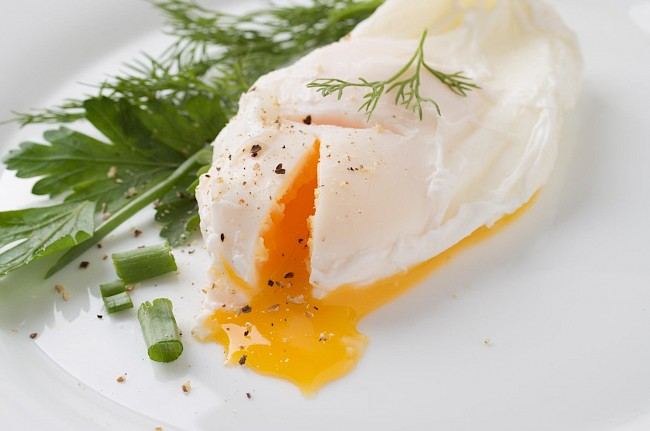 Poached egg - caloies, wieght