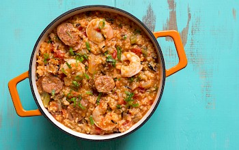 Jambalaya - calories, nutrition, weight