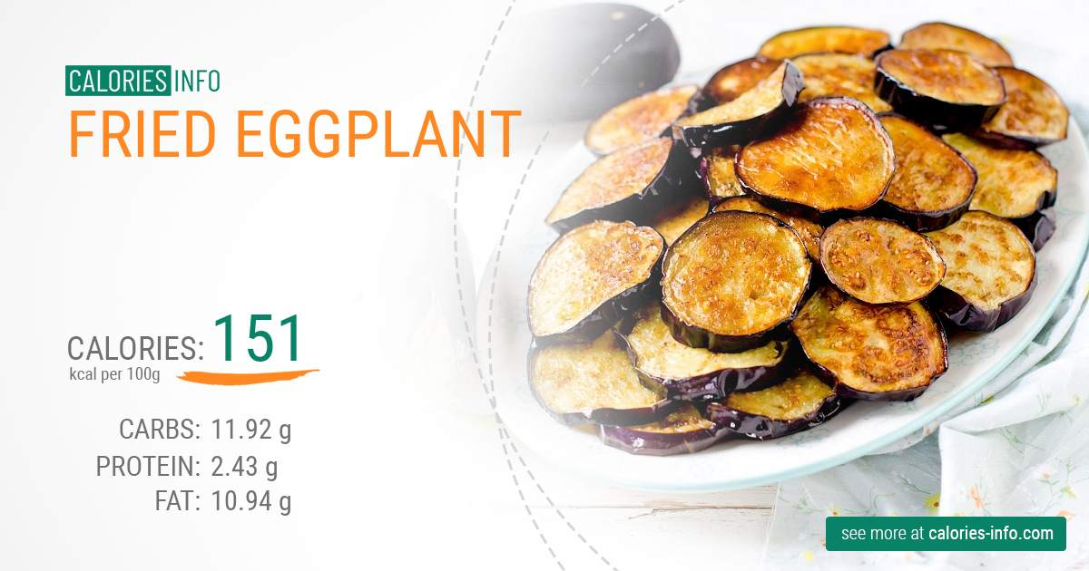 How Many Calories In Fried Eggplant 3 Things You Should Know