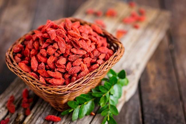 Goji berries - nutrition, vitamins, minerals