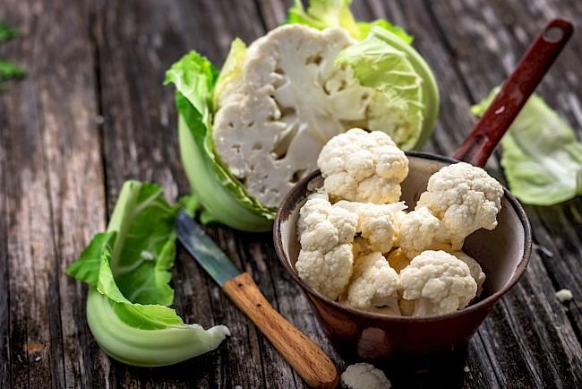 Cauliflower - kalorie, kcal, ile waży