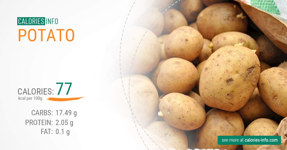 Calories In Potato Full Analyze And Infographic