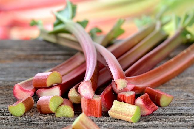 Rhubarb - caloies, wieght