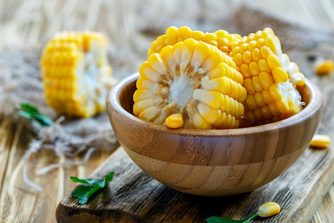 Corn - nutrition, vitamins, minerals
