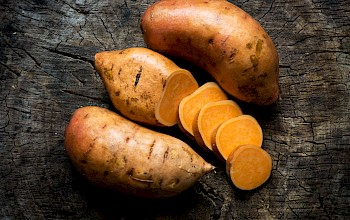 Sweet potato - calories, nutrition, weight