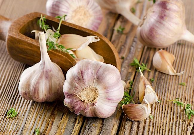 Garlic - caloies, wieght