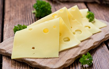 Swiss cheese - calories, nutrition, weight