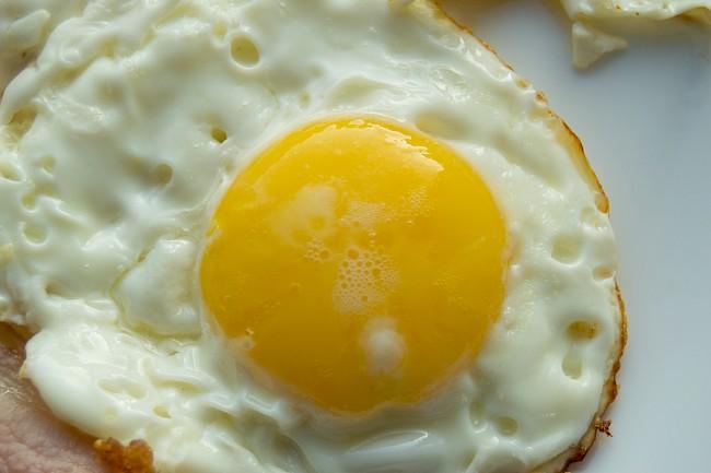 Fried egg - caloies, wieght