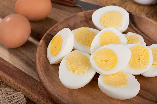 Boiled egg - calories, kcal, weight, nutrition