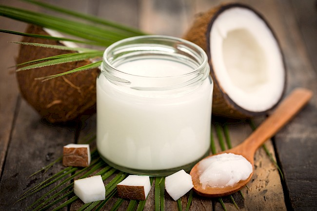 Coconut oil - nutrition, vitamins, minerals