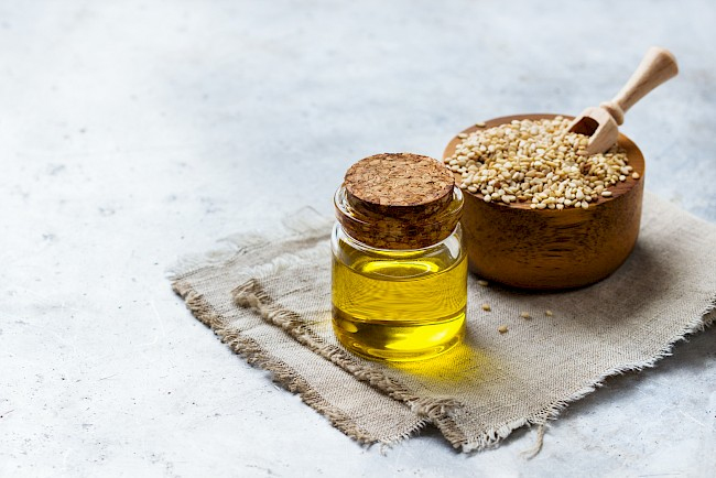 Sesam oil - nutrition, vitamins, minerals