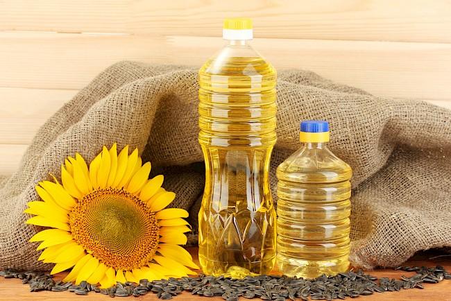 Oil (sunflower) - kalorie, kcal, ile waży