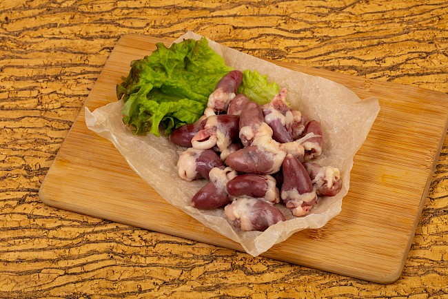 Poultry offal - kalorie, kcal, ile waży
