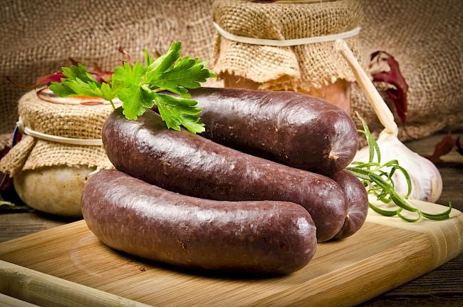 Blood sausage - kalorie, kcal, ile waży