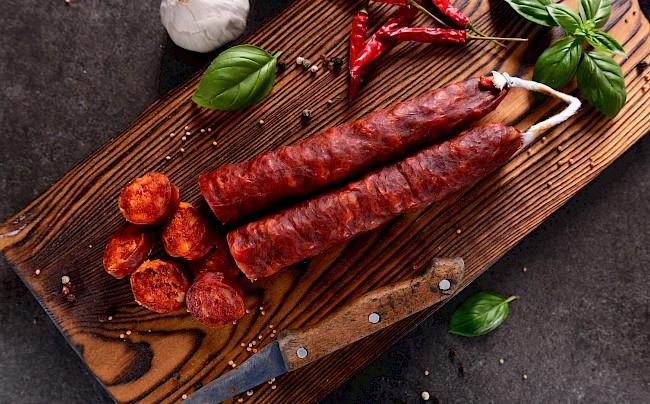 Chorizo - caloies, wieght