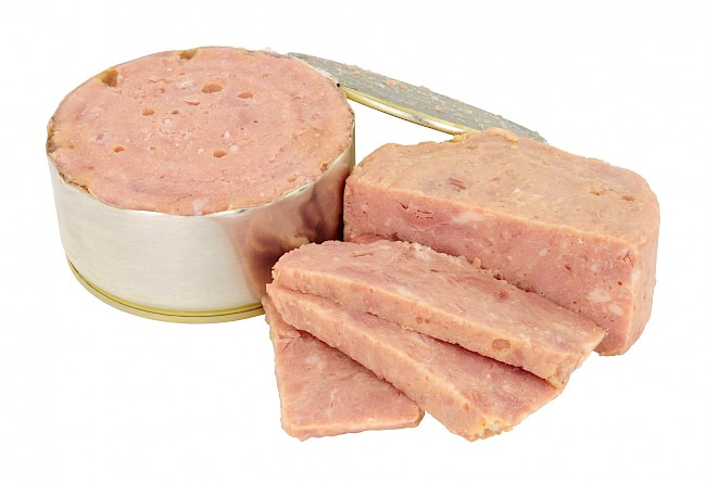 Luncheon meat - caloies, wieght