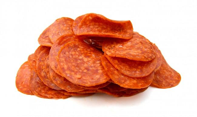 Pepperoni - nutrition, vitamins, minerals