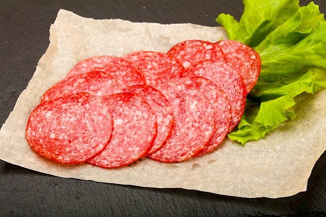 Salami - kalorie, kcal, ile waży