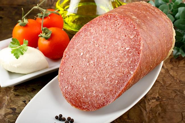 Turkey salami - nutrition, vitamins, minerals