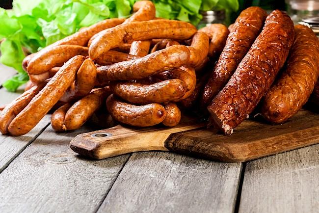 Sousage - kalorie, kcal, ile waży