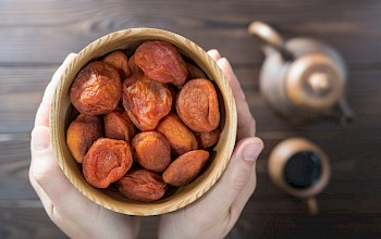 Dried apricots - calories, nutrition, weight