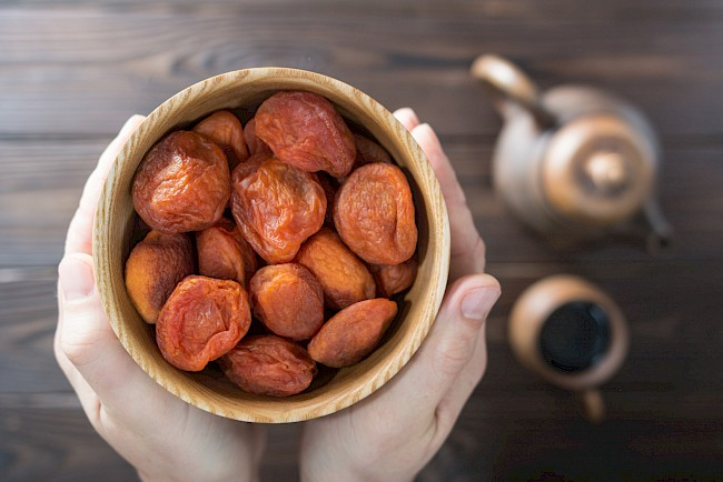 Dried apricots - nutrition, vitamins, minerals