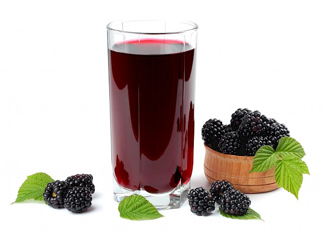 Blackberry juice - nutrition, vitamins, minerals
