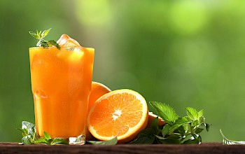 Orange juice - calories, nutrition, weight