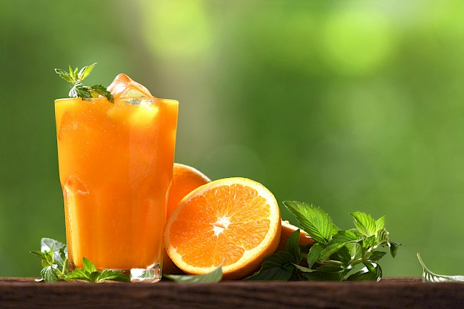 Orange juice - calories, kcal, weight, nutrition