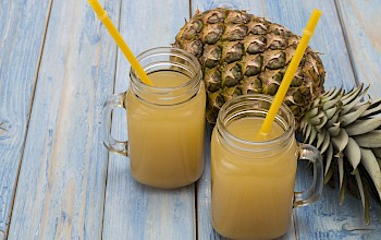 Pineapple juice - calories, nutrition, weight