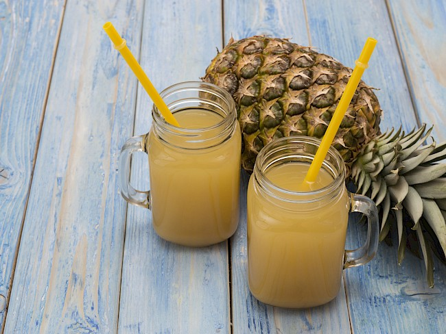 Pineapple juice - nutrition, vitamins, minerals