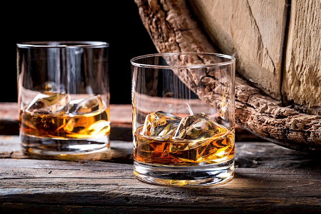 Whisky (whiskey) - nutrition, vitamins, minerals