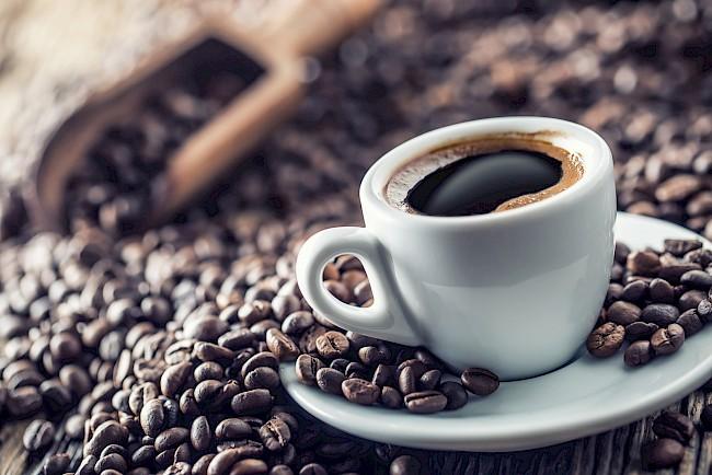 Coffee - caloies, wieght