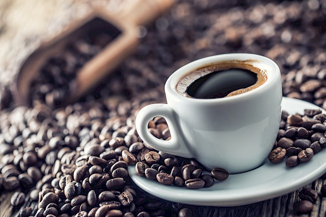 Coffee - calories, kcal, weight, nutrition