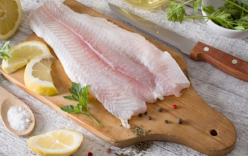 Halibut (fillet, meat) - calories, nutrition, weight