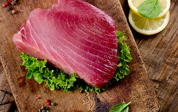 Tuna - calories, nutrition, weight