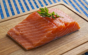 Salmon - calories, nutrition, weight