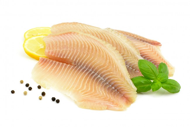 Tilapia (fillet, meat) - nutrition, vitamins, minerals