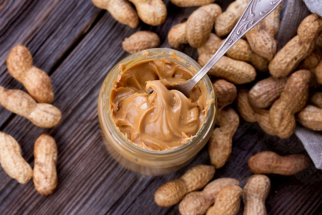 Peanut butter - nutrition, vitamins, minerals
