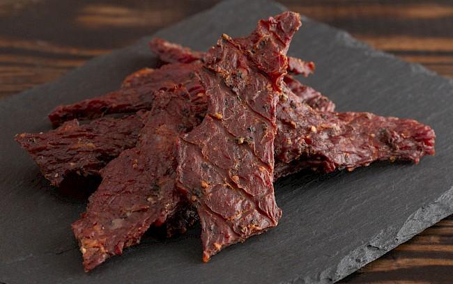 Beef jerky - nutrition, vitamins, minerals