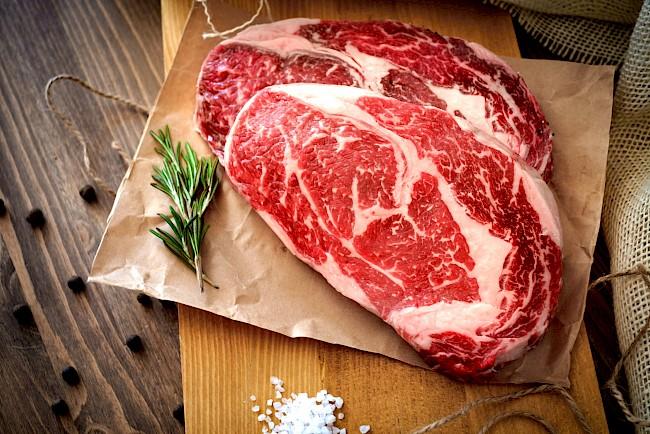 Steak - kalorie, kcal, ile waży