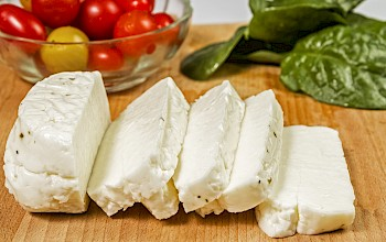 Halloumi cheese - calories, nutrition, weight