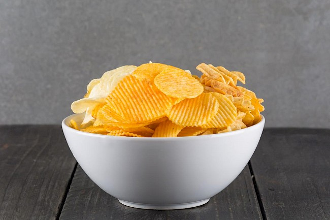 Potato chips - kalorie, kcal, ile waży