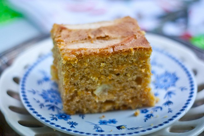 Carrot cake - nutrition, vitamins, minerals